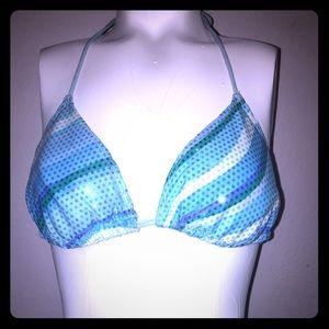 Sparkle blue mermaid bikini